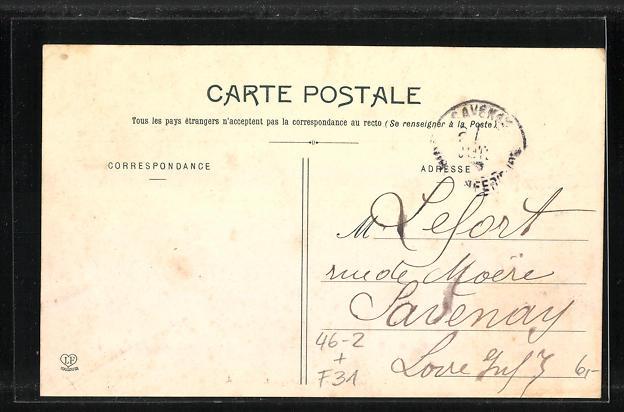 AK Toulouse, Carrefour Lafayette, Pferdebahn 1