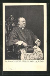 AK Sr. Gnaden Robertus Bürkler, Bischof von St. Gallen
