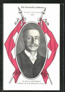 AK M. Arthur Hoffmann, Résident der Schweiz