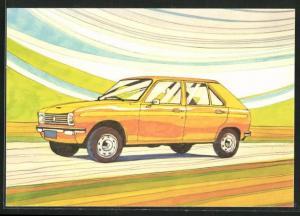 AK Auto-Reklame für Peugeot 104
