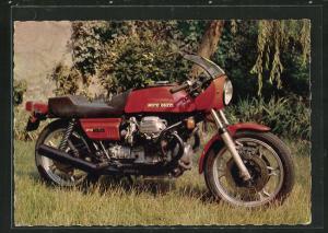 AK Motorrad vom Typ Guzzi 850 - Le Mans