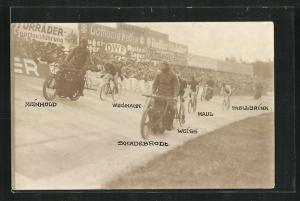 AK Motorradrennen Meinhod, Wegmann und Weiss