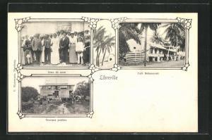 AK Libreville, Cafe Bettencourt, Travaux publics