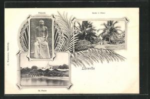 AK Libreville, Route à Glass, St. Pierre, Pahouin