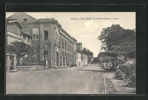 AK Lagos, Marina, Post Office to Christ Church