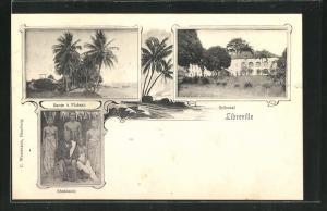 AK Libreville, Tribunal, Route à Plateau, Shekianis