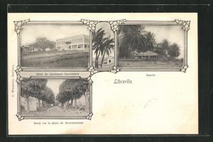 AK Libreville, Hotel du Lieutenant Gouverneur, Marché