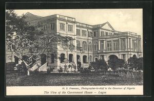 AK Lagos, View of the Government House