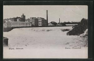 AK Narva, Fabriken am Wasserfall