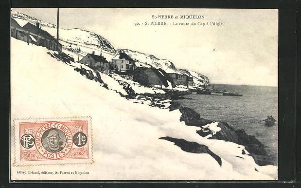 AK St-Pierre, La route du Cap à l`Aigle 0