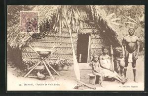 AK Maroni, Famille de Noirs Bouis