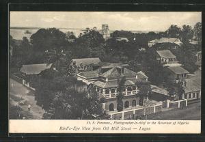 AK Lagos, Bird`s-Eye View from Oil Mill Street