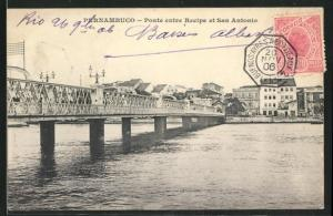 AK Pernambuco, Ponte entre Recipe et San Antonio