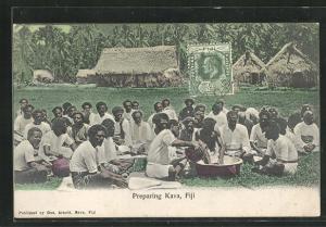 AK Fiji, Preparing Kava