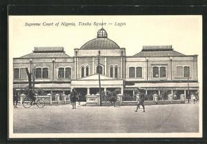 AK Lagos, Supreme Court of Nigeria, Tinubu Square