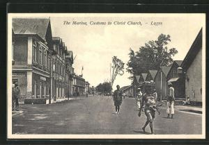 AK Lagos, The Marina, Customs to Christ Church