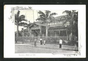 AK Nouméa, Hotel de Ville, Rathaus
