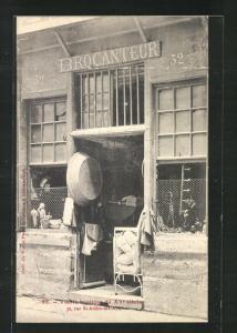 AK Paris, Vieille Boutique du XV siècle, 32 Rue St-Andre-des-Arts