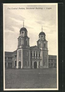 AK Lagos, Central Portion, Secretariat Building