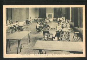 AK Pnom-Penh, École des Arts cambodgiens, Ateliers d`orfèvres et fondeurs
