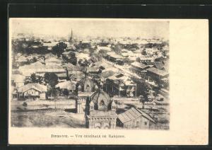 AK Rangoon, Vue Générale, Teilansicht der Stadt