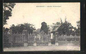 AK Maurice, Jardin Botanique