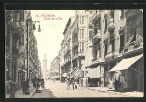AK Valencia, Calle de la Paz