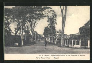 AK Lagos, Force Road View