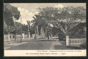 AK Lagos Marina, The Covernment House Beach