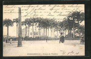 AK Pernambuco, Prace de Theatro