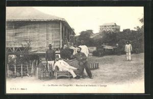 AK Loango, La Mission du Congo-Nil, Marchand et Germain