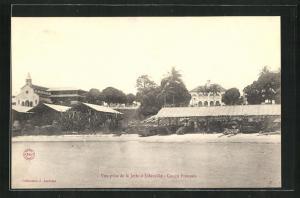 AK Libreville, Vue prise de la Jetee