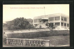 AK Libreville, Vue de l`Hotel du Lieutenant Gouverneur