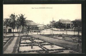 AK Dahomey / Cotonou, Une Vue