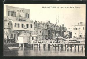 AK Tripoli-Ville, Quai de la Douane