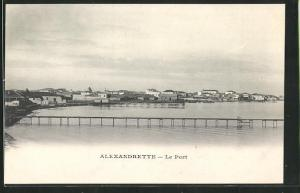 AK Alexandrette, Le Port