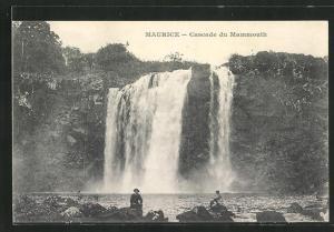 AK Mauritius, Cascade du Mammouth, Wasserfall