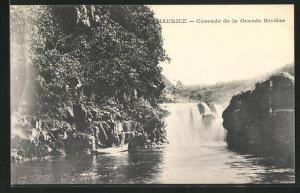 AK Mauritius, Cascade de la Grande Riviere