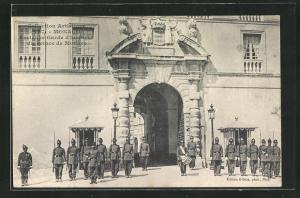 AK Monaco, Ancienne Garde d`honneur du Prince de Monaco