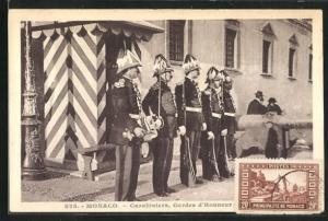 AK Monaco, Carabiniers, Gardes d`Honneur