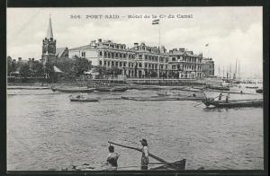 AK Port Said, Hotel de la Cie du Canal
