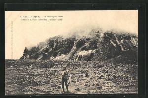 AK Martinique, La Montagne Pelée