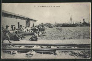 AK Salonique, Le Port