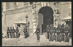 AK Monaco, Garde d'honneur