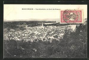 AK Fort-de-France, Vue générale