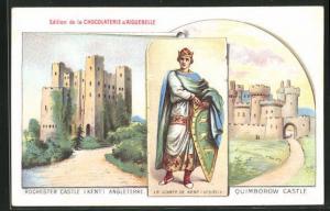 AK Angleterre, Rochester Castle