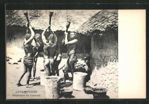 AK Cote D'Ivoire, Préparation du Coucous