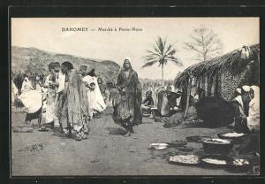 AK Dahomey, Marche á Porto-Novo