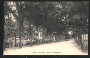 AK Cotonou, Allée de la Délégation