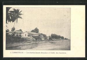 AK Libreville, Les établissements Brandon et l'allée des Cocotiers